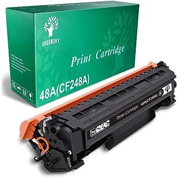 GREENSKY Compatible Toner Cartridge Replacement for HP 48A CF248A for HP Laserjet Pro M15w M15a M16a M16w MFP M29w MFP M29a MFP M28w MFP M28a Printer (Black, 1 Pack)