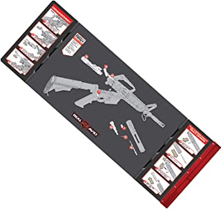 "Real Avid AVAR15SM .223cal Smart Mat – 43×16"".223 Gun Cleaning Mat, Rifle Graphics"