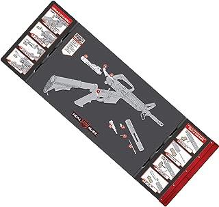 "Real Avid AVAR15SM .223cal Smart Mat – 43×16"".223 Gun Cleaning Mat, Rifle Graphics"