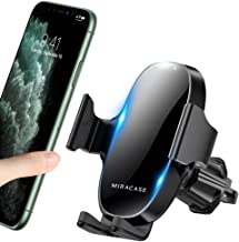 ?2020 Upgraded? Miracase Car Phone Mount, Air Vent Cell Phone Holder for Car, Universal Car Phone Holder Cradle Compatible with iPhone 11/11 Pro/11 Pro Max/XR/Xs/XS Max /8/7/6,Pixel,S10+ and More