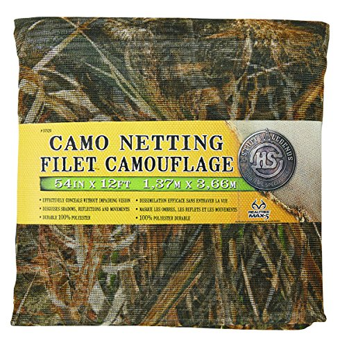 "Hunters Specialties Mesh Netting, Realtree Advantage Max-5 Camo, 54"" x 12'"