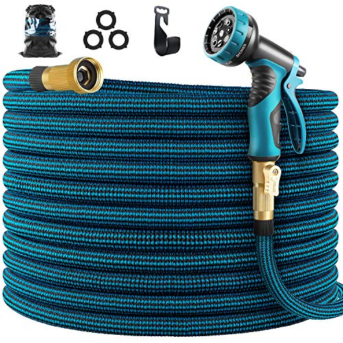 WHIMSWIT 100FT Garden Hose Expandable Hose, Flexible Water Hose...