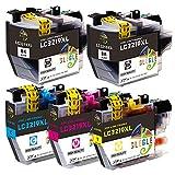 GLEGLE LC3219 Cartucce compatibili Brother LC3219 LC3217XL per Brother MFC-J6530DW MFC-J5330DW MFC-J5335DW MFC-J5730DW MFC-J6930DW MFC-J6530DW MFC-J6935DW MFC-J5930DW (2 Nero,1Ciano,1Magenta,1Giallo)