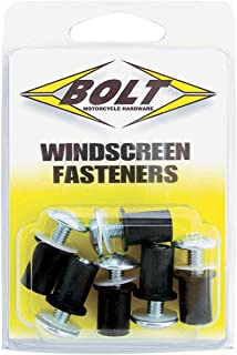 Bolt Motorcycle Hardware Windscreen Fasteners 2009-WSF
