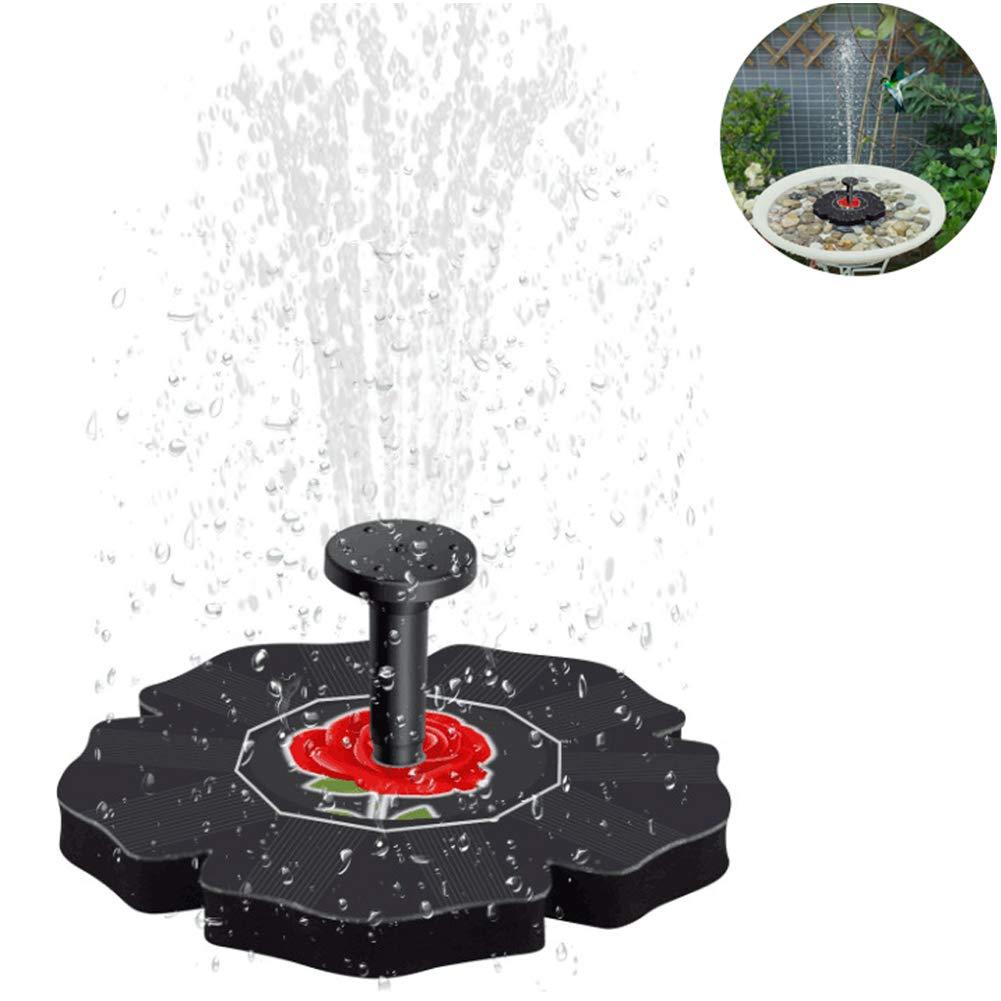 MJLXY 7V / 1.4W Bomba de Agua Solar, Decoracion Jardin, Fuentes de Agua Decorativas Exterior, Fuentes Solares para Jardin, Fuente Decorativa, Bomba de Agua para Piscina/Estanque: Amazon.es: Deportes y aire libre