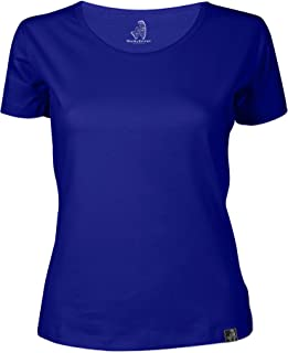 Wackylicious Classic summer Round-Neck with short sleeves, Simple, chic and delightful top for a summer T-shirt