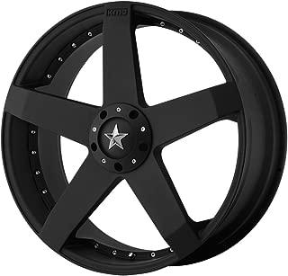 KMX Wheels Rockstar Car KM7757 Matte Black Finish Wheel (20x8