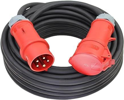 330 Gummi Verlängerungskabel  Verlängerung 25m H07RN-F 3x1,5  Außen 230V Art
