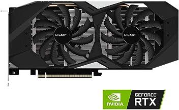 GIGABYTE GeForce RTX 2070 DirectX 12 GV-N2070WF2-8GD 8GB 256-Bit GDDR6 PCI Express 3.0 x16 ATX Video Card