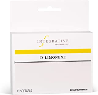 Integrative Therapeutics - D-Limonene - Relief for Occasional Heartburn, Acid Indigestion, and Upset Stomach - 10 Softgel Capsules