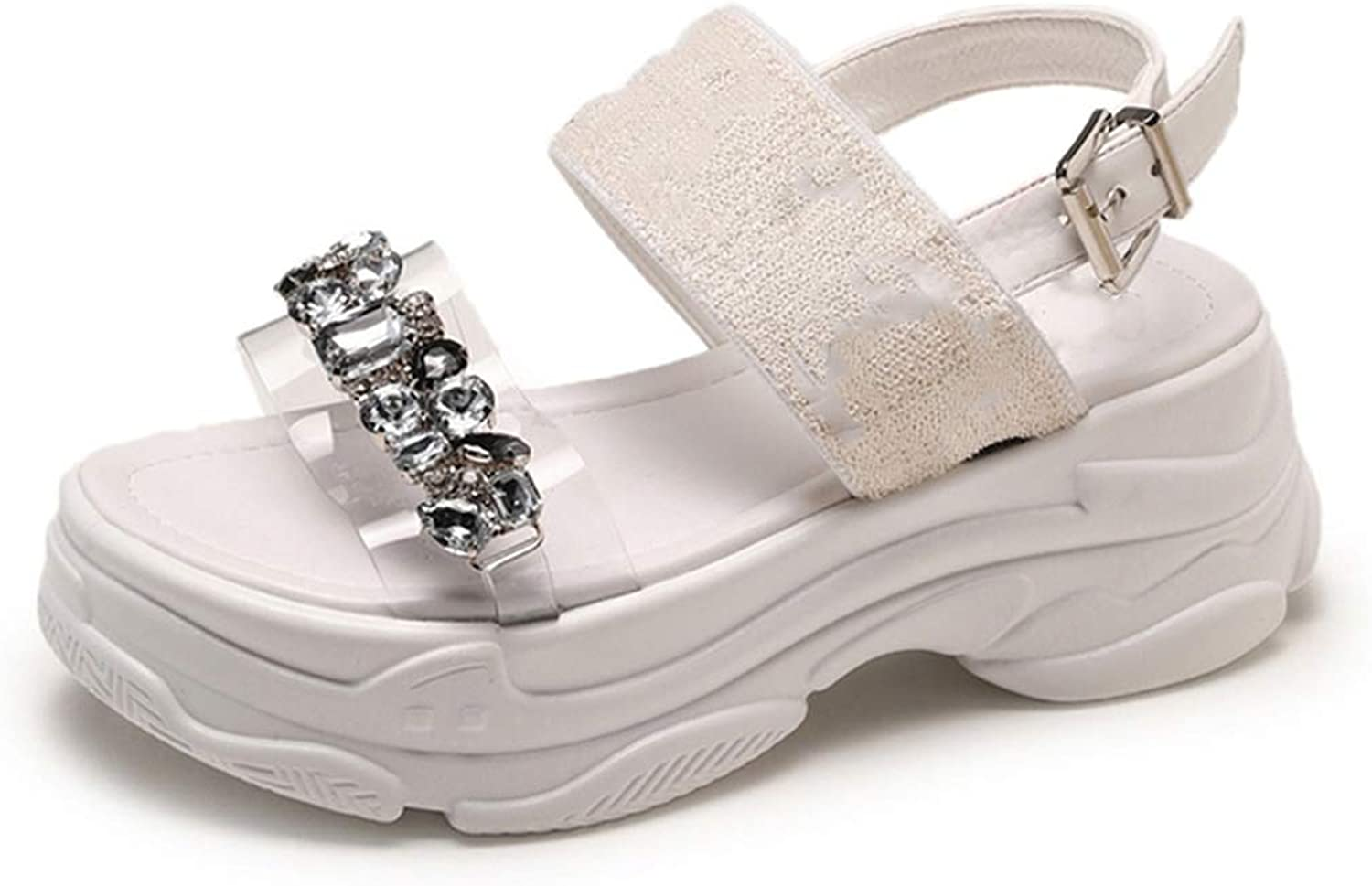 Summer shoes Women Open-Toed Leisure Sandals Comfortable Platform shoes Outdoor Outdoor Work shoes Size35-39