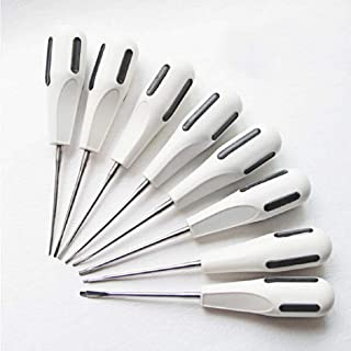8PCS/Set Dental Minimally Invasive Tooth Extraction Elevator Dental Minimally invasive Tooth Extraction leavtoe Tooth loosening Tool kit Sets