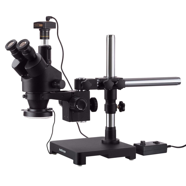 AmScope 3.5X-45X Black Trinocular 2021 new Ranking TOP1 Stereo Zoom Microscope on Sing