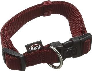 Trixie Premium Dog Collar, 25 - 40 x 15 mm, Bordeaux