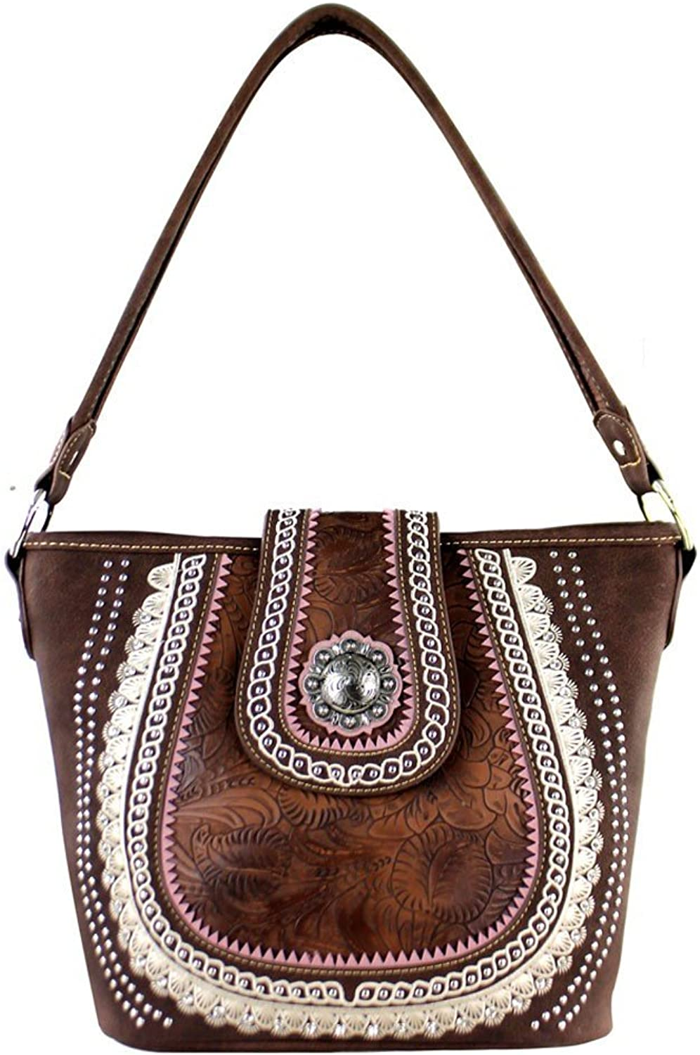 MW357G916 Montana West Concho Collection Concealed Handgun Collection Tote