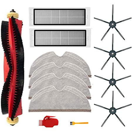 For Xiaomi Roborock S6//S5 Max S60//S65 T4 T6 Parts SIDE BRUSH FILTER MOP Tool Kit