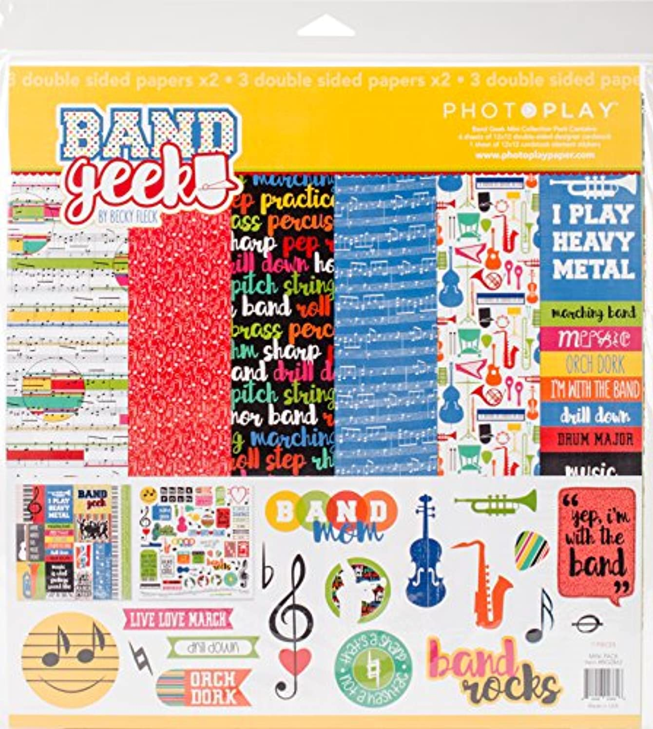 PHOTOPLAY Band Geek Collection Pack