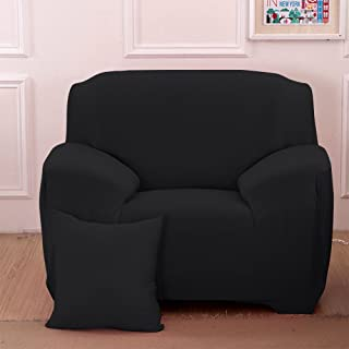 Stretch Seat Chair Covers Couch Slipcover Sofa Loveseat Cover 9 Colors/4 for 1 2 3 4 Four People Sofa + 1 Pillowcase (35