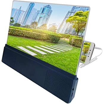 12 Lupa de pantalla, pantalla de teléfono móvil plegable de grano ...
