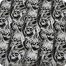 Wassertransferdruck Folie Wassertransferdruckfilm Wtd Wassertransferdruckfilm 0 9x5m Dripping Skulls Water Transfer Printing Hydrographics Film Baumarkt