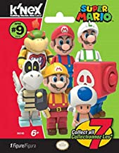 K'NEX Super Mario Mystery Blind Bag Figures, Series 9, Collect All 7