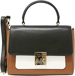 e5d3ee312736 MICHAEL Michael Kors MINDY Medium Leather Convertible Top Handle Satchel  Crossbody Bag -