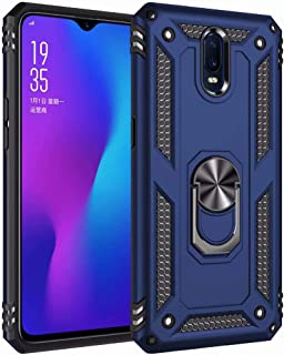 حافظة FanTing لجهاز Xiaomi Poco M2 Pro ، متينة ومقاومة للصدمات ، مع حامل الهاتف المحمول ، غطاء لجهاز Xiaomi Poco M2 Pro-Blue