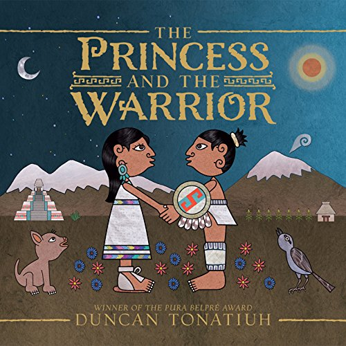 The Princess and the Warrior audiobook cover art