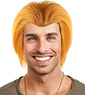 Halloween Party Online Chucky Cult of Evil Doll Breathable Capless Cap Designed Wig, Red Adult HM-181