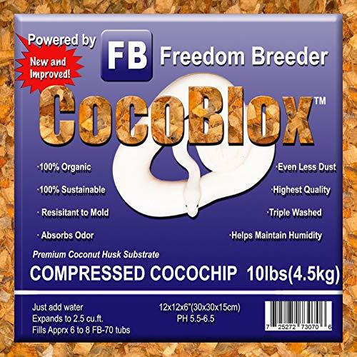 Freedom Breeder CocoBlox Compressed Coco Chip
