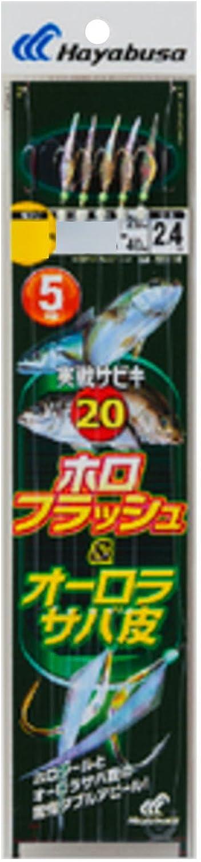 Hayabusa (Hayabusa) combat sabiki 20 Hgold Flash & Aurora mackerel skin 9-2-4 SS116