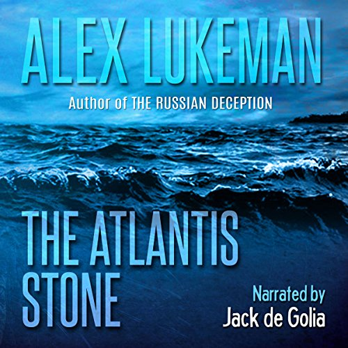 The Atlantis Stone audiobook cover art