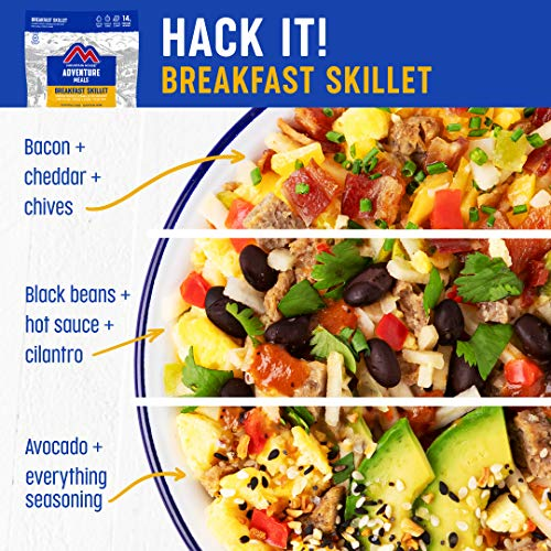 Mountain House Breakfast Skillet   Freeze Dried Backpacking & Camping Food   2 Servings   Gluten-Free
