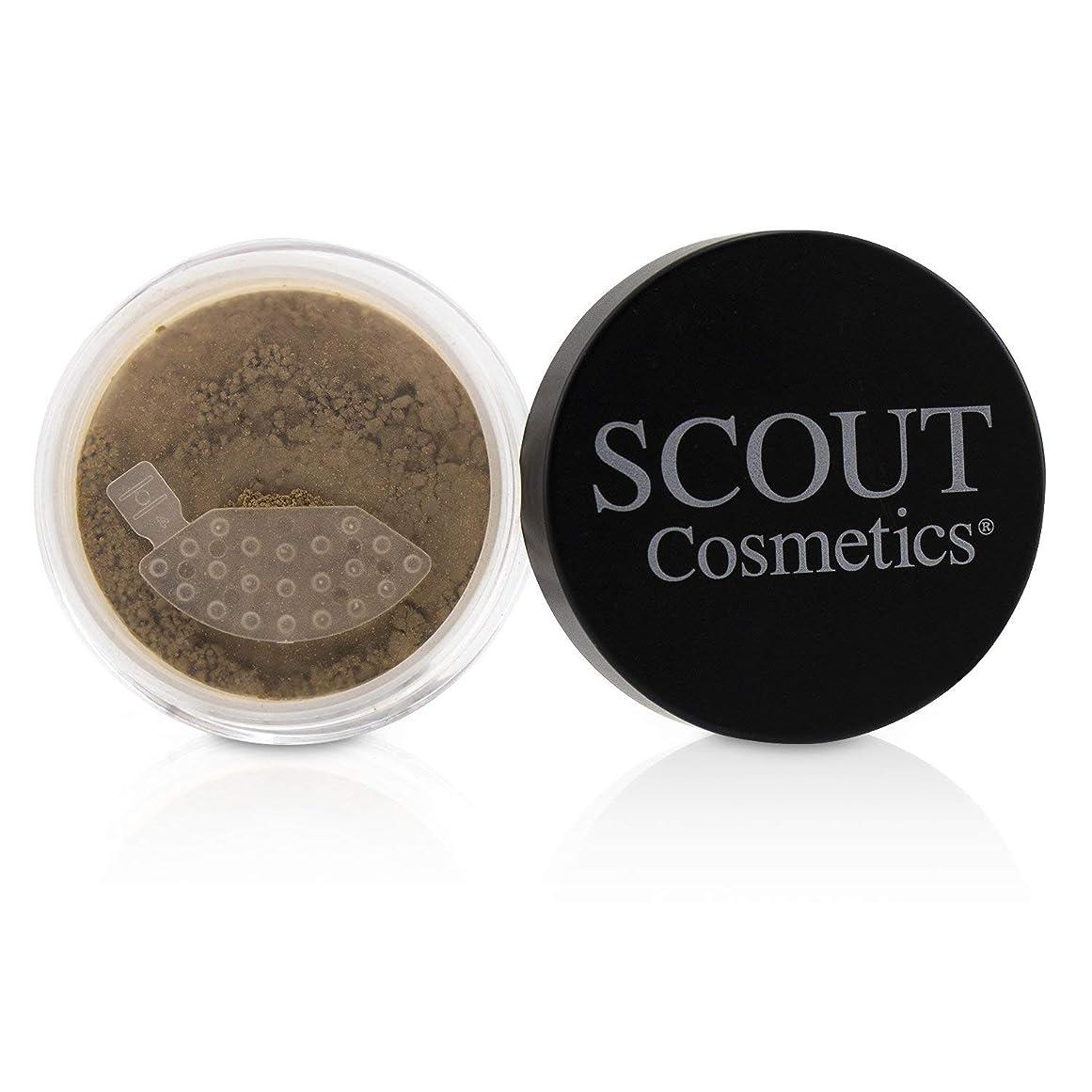 パステルでる夜SCOUT Cosmetics Mineral Powder Foundation SPF 20 - # Almond 8g/0.28oz並行輸入品