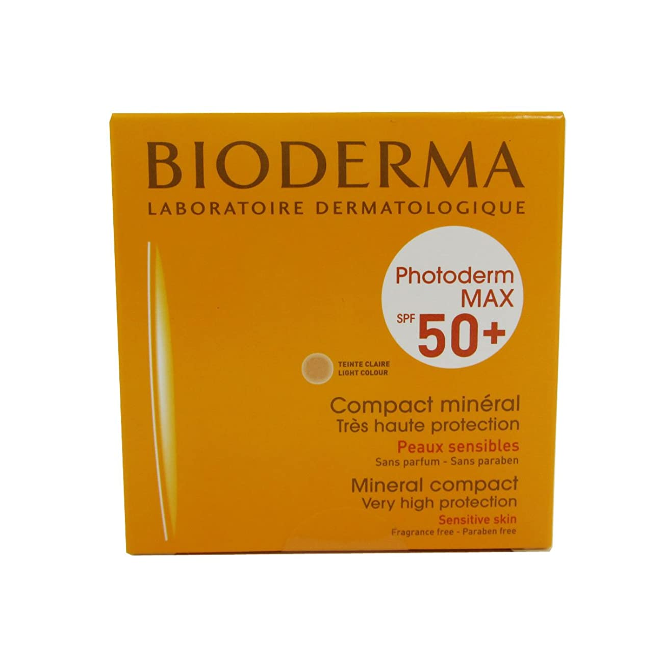 去る汚れた免疫するBioderma Photoderm Max Compact Mineral 50+ Light 10g [並行輸入品]