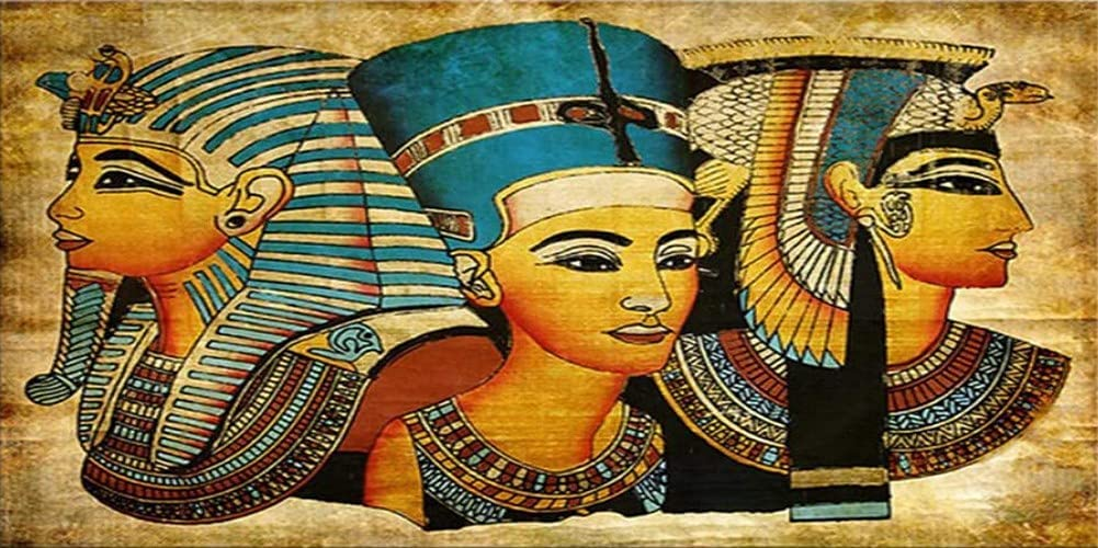DIY 5D Diamond Painting Kits Egyptian 100x20 All items free shipping Soldering Adults Abstract for
