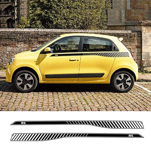 HLLebw Auto Seitenstreifen Seitenaufkleber Aufkleber, for Renault Twingo RS
