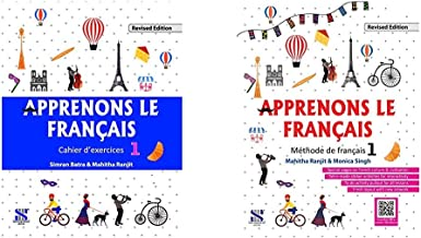 Apprenons Le Francais French Workbook 01: Educational Book&Apprenons Le Francais French Textbook 01: Educational Book(Set ...