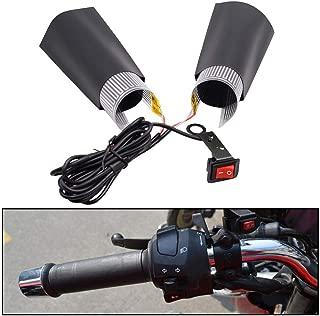 Heaviesk Beheizte Grip Pads Universal 12 V Motorrad ATV Beheizte Grip Insert Lenker Handw/ärmer Griff Heizung Pad f/ür Kawasaki f/ür Yamaha