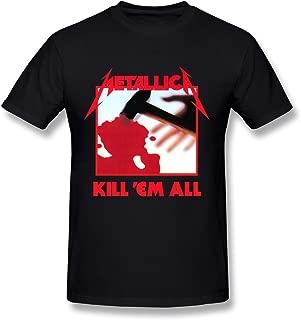 DONVAN Men's Metallica Kill 'Em All T-Shirt