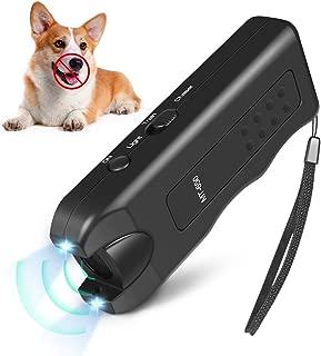 Quenta Handheld Dog Repellent, Ultrasonic Infrared Dog Deterrent, Bark Stopper + Good Behavior Dog Training
