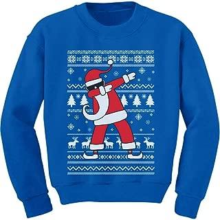 Dabbing Santa Funny Ugly Christmas Party Youth Kids Sweatshirt