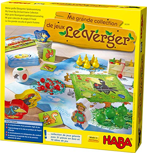 HABA - Ma grande collection de jeux Le verger, 302283