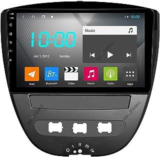 Android 10.0 Auto Stereo Dubbel Din voor Citroen C1 2005-2014 GPS Navigatie 9 Inch Head Unit Touchscreen MP5 Multimedia sp...
