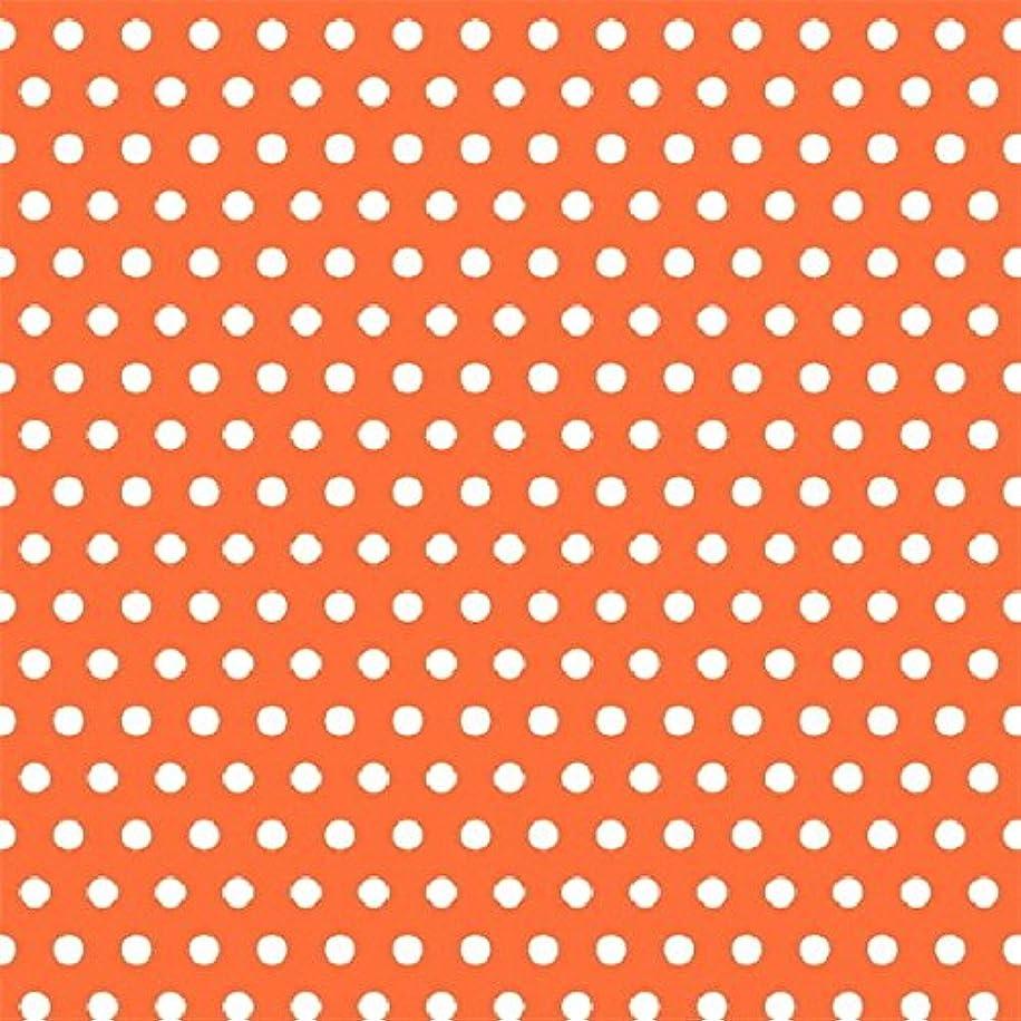 Orange Polka Dot Jumbo Gift Wrap