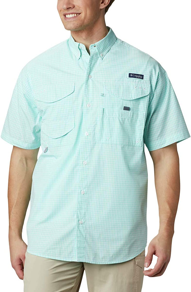 Special Campaign Columbia Men's Super Bonehead Shirt Sleeve Short Classic Limited time trial price