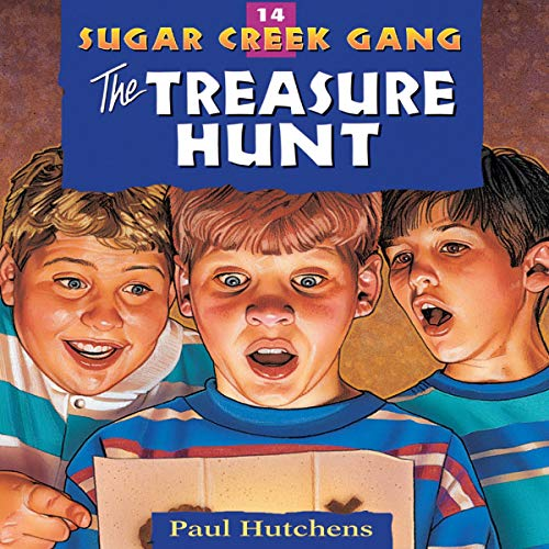 The Treasure Hunt     Sugar Creek Gang, Book 14              By:                                                                                                                                 Paul Hutchens                               Narrated by:                                                                                                                                 Aimee Lilly                      Length: 2 hrs and 33 mins     Not rated yet     Overall 0.0