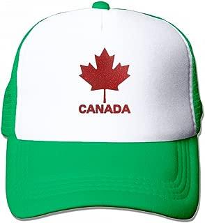 GoNewBee Canadian Flag Canada Men Trucker Hat Baseball Visor Cap Dad Hat Mesh Hat
