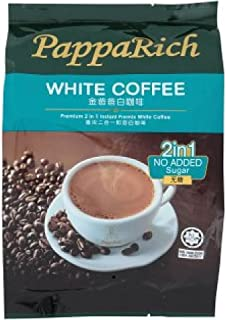 PappaRich Instant White Coffee 300g/360g (628MART) (Premium 2 in 1 No Added Sugar 300g, 3 Count)