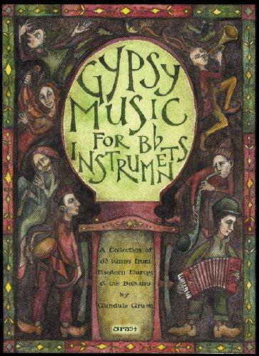 HARMONIA GIPSY MUSIC FOR Bb INSTRUMENTS + CD Noten Pop, Rock, .... Musik aus aller Welt